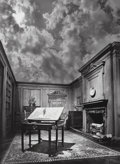 Photographs, Jerry Uelsmann (American, b. 1934). Untitled (Philosopher's Desk), 1976. Gelatin silver. 19-1/2 x 14-3/8 inches (49.5 x ...