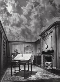Jerry Uelsmann (American, b. 1934) Untitled (Philosopher's Desk), 1976 Gelatin silver 19-1/2 x 14