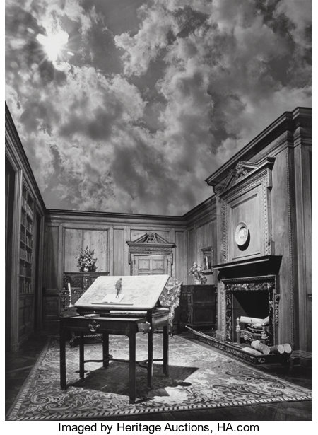 Jerry Uelsmann (American, b. 1934) Untitled (Philosopher's Desk), 1976 Gelatin silver 19-1/2 x 14-3/8 inches (49.5 x ...