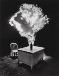 Photographs, Jerry Uelsmann (American, b. 1934). Untitled (Desk), 1988. Gelatin silver. 19-3/8 x 15-1/4 inches (49.2 x 38.7 cm). Init...