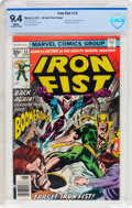Bronze Age (1970-1979):Superhero, Iron Fist #13 35 Cent Price Variant (Marvel, 1977) CBCS NM 9.4 White pages....