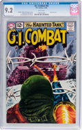 Silver Age (1956-1969):War, G.I. Combat #92 (DC, 1962) CGC NM- 9.2 White pages....