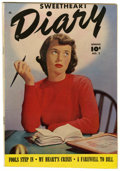 "Golden Age (1938-1955):Romance, Sweetheart Diary #2 Davis Crippen (""D"" Copy) pedigree (Fawcett,1950) Condition: VF+...."