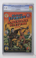 """Golden Age (1938-1955):Non-Fiction, Picture Stories From American History #3 Davis Crippen (""""D"""" Copy)pedigree (EC, 1947) CGC FN/VF 7.0 Off-white to white pages...."""