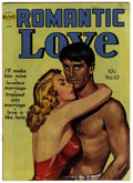 "Golden Age (1938-1955):Romance, Romantic Love Davis Crippen (""D"" Copy) pedigree Group (Avon,1952).... (Total: 2)"