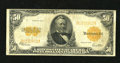 Large Size:Gold Certificates, Fr. 1200 $50 1922 Gold Certificate Fine. The edges and color arenice for the grade on this $50 Gold....