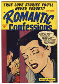 "Golden Age (1938-1955):Romance, Romantic Confessions V1#10 Davis Crippen (""D"" Copy) pedigree(Hillman Publications, 1950) Condition: VF+...."