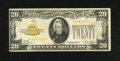 Small Size:Gold Certificates, Fr. 2402 $20 1928 Gold Certificate. Fine.. This is an evenly circulated $20 Gold....
