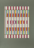 Prints & Multiples, Yaacov Agam (Israeli, b. 1928). Twelve works from The Twelve Tribes of Israel series. Screenprints in colors on wove pap... (Total: 12 Items)