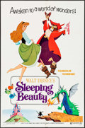 "Movie Posters:Animation, Sleeping Beauty & Other Lot (Buena Vista, R-1970). One Sheets (2) (27"" X 41"") Style B. Animation.. ... (Total: 2 Items)"