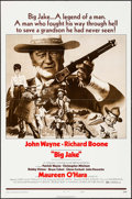 """Movie Posters:Western, Big Jake & Other Lot (National General, 1971). One Sheet (27"""" X 41"""") Style B, & Photos (6) (8"""" X 10""""). Western.. ... (Total: 7 Items)"""