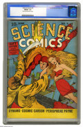 Golden Age (1938-1955):Science Fiction, Science Comics #5 (Fox, 1940) CGC FN/VF 7.0. CGC does not provideits usual page quality information for this issue, but not...