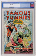 Golden Age (1938-1955):Science Fiction, Famous Funnies #210 (Eastern Color, 1954) CGC NM 9.4 Whitepages....