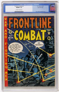 Golden Age (1938-1955):War, Frontline Combat #5 Gaines File pedigree (EC, 1952) CGC NM/MT 9.8Off-white to white pages....