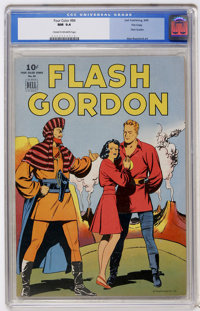 Four Color #84 Flash Gordon - File Copy (Dell, 1945) CGC NM 9.4 Cream to off-white pages