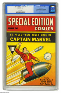 Special Edition Comics #1 Allentown pedigree (Fawcett, 1940) CGC NM/MT 9.8 Off-white pages. We can hardly conceive of a...