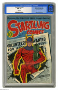 Golden Age (1938-1955):Superhero, Startling Comics #41 Mile High pedigree (Better Publications, 1946) CGC NM+ 9.6 White pages. From the collection of Edgar Ch...