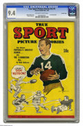 Golden Age (1938-1955):Non-Fiction, True Sport Picture Stories V2#5 Crowley Copy pedigree (Street &Smith, 1944) CGC NM 9.4 Off-white to white pages. Features s...