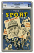 Golden Age (1938-1955):Non-Fiction, True Sport Picture Stories V2#6 Crowley Copy pedigree (Street &Smith, 1944) CGC NM+ 9.6 Off-white to white pages. Can you n...