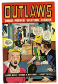 Golden Age (1938-1955):Western, Outlaws #9 (D.S. Publishing, 1949) Condition: VF....