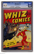 Golden Age (1938-1955):Superhero, Whiz Comics #17 Recil Macon pedigree (Fawcett, 1941) CGC VG+ 4.5 Off-white to white pages. This copy's got the fresh cover c...