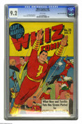 Golden Age (1938-1955):Superhero, Whiz Comics #20 Mile High pedigree (Fawcett, 1941) CGC NM- 9.2 White pages. Captain Marvel and his arch-foe Sivana were this...