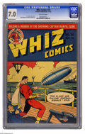 Golden Age (1938-1955):Superhero, Whiz Comics #24 (Fawcett, 1941) CGC FN/VF 7.0 Off-white pages. C. C. Beck cover and art. Overstreet 2005 FN 6.0 value = $207...