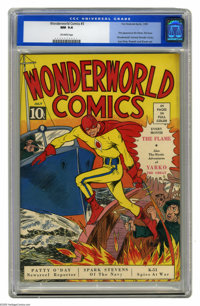 Wonderworld Comics #3 (Fox, 1939) CGC NM 9.4 Off-white pages. This 9.4 copy is the best one available according to CGC's...