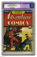Golden Age (1938-1955):Superhero, Adventure Comics #40 (DC, 1939) CGC Apparent VF 8.0 Moderate (P) Cream to off-white pages. Currently ranked #11 on Overstree...