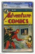 Adventure Comics #62 Mile High pedigree (DC, 1941) CGC NM+ 9.6 White pages. Unbelievable copy - no, wait, it's from Edga...