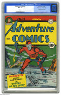 Golden Age (1938-1955):Superhero, Adventure Comics #79 Mile High pedigree (DC, 1942) CGC NM+ 9.6 White pages. One of the top creative teams to work in the com...
