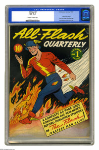 All-Flash #1 (DC, 1941) CGC NM 9.4 Off-white to white pages. Sensational copy of one of the most valuable comic books of...