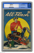 Golden Age (1938-1955):Superhero, All-Flash #27 Mile High pedigree (DC, 1947) CGC NM/MT 9.8 Off-white to white pages. A Golden Age 9.8 is quite a sight -- che...
