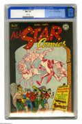 Golden Age (1938-1955):Superhero, All Star Comics #30 Mile High pedigree (DC, 1946) CGC NM+ 9.6 White pages. This cover's black border makes it challenging to...