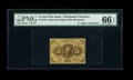 Fractional Currency:First Issue, Fr. 1228 5c First Issue PMG Gem Uncirculated 66 EPQ....