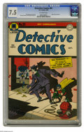 Golden Age (1938-1955):Superhero, Detective Comics #91 (DC, 1944) CGC VF- 7.5 Off-white pages. A Joker cover and story mean a desirable collectible, but heck,...