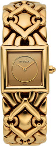 Estate Jewelry:Watches, Bvlgari Lady's Gold Trika Watch. ...