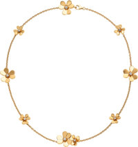 Diamond, Gold Necklace, Van Cleef & Arpels, French