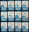 Baseball Cards:Lots, 1938 Goudey Big League Baseball Movies Collection (12) With SignedLuke Appling....