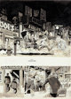 """Wally Wood MAD Magazine #34 Complete 4-Page Story """"Two Chinese Fellas who go to an American Restaurant"""" Origin..."""