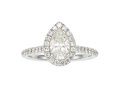 Estate Jewelry:Rings, Diamond, White Gold Ring The ring features a p...