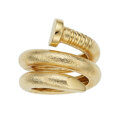 Estate Jewelry:Rings, Gold Nail Ring, David Webb The 18k gold Too...