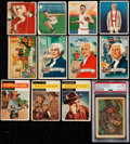 Boxing Cards:General, 1910-1958 Non-Sport Card Collection (40) - Plus 1910 T218 Champions(14). . ...