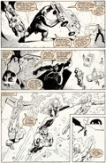 Original Comic Art:Panel Pages, Arthur Adams and Al Milgrom X-Factor #42 Page 11 OriginalArt (Marvel, 1989)....