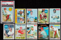 Baseball Cards:Lots, 1960's - 1970's Baseball Hall of Famers Collection (10). ...