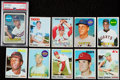 Baseball Cards:Lots, 1960's - 1970's Topps Baseball hall of Famers Collection (10). ...