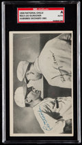 Autographs:Sports Cards, Signed 1936 National Chicle R313 Leo Durocher SGC Authentic....