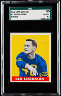 Football Cards:Singles (Pre-1950), 1948 Leaf Sid Luckman #1 SGC 55 VG/EX+ 4.5....