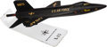 Explorers:Space Exploration, North American Aviation X-15 Model on Lucite Base....