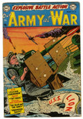Golden Age (1938-1955):War, Our Army at War #20 (DC, 1954) Condition: FN+....